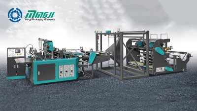 Máquina de Producción Automática de Bolsas con corte D No Tejidas