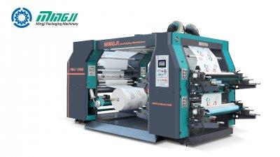 Máquina de Estampado Flexográfico de 4 Colores
