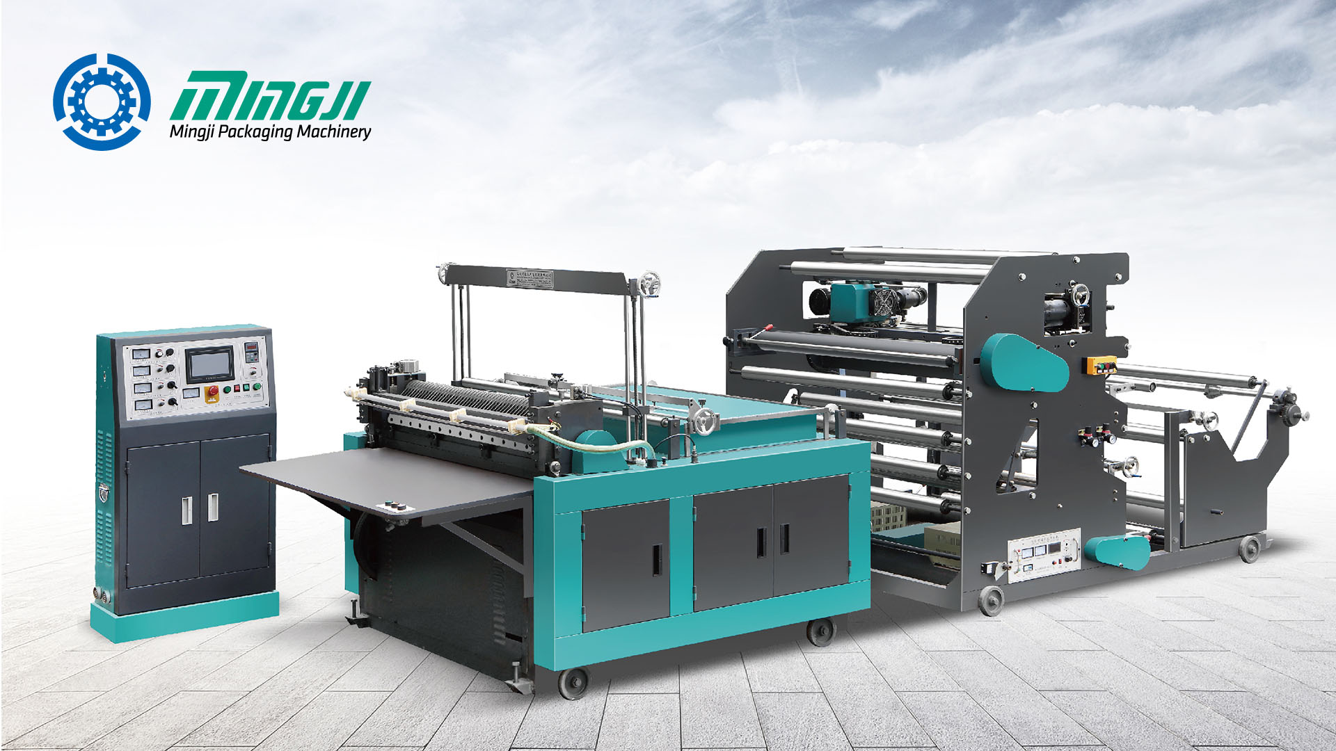 MJC800-1200 - Otomatik Dokumasız Çapraz Kesme Makinesi
