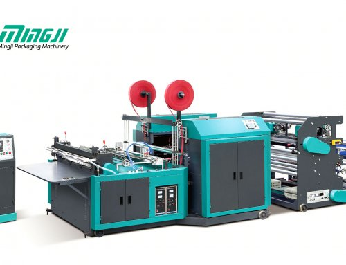 MJCH1200 – Automatic Nonwoven Cutting Machine With Handle Attach