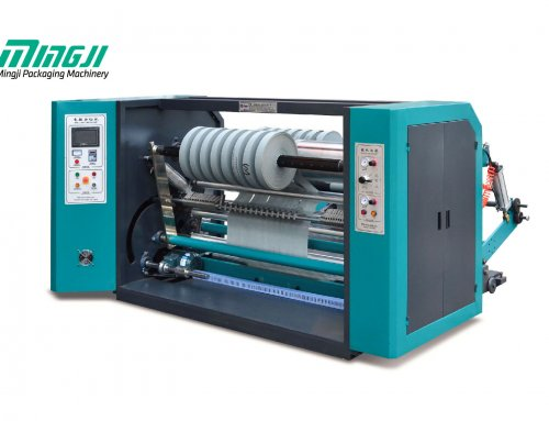 MJSC1300-1700S – High Speed Nonwoven Slitting Machine