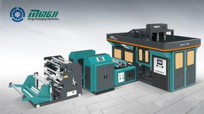 Máquina de Producción Automática de Bolsas de Cajas No Tejidas Moldeadas en un tiempo