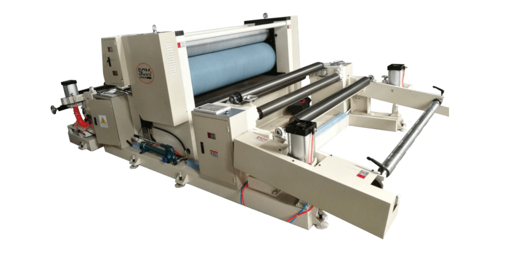 Non-woven embossing machine