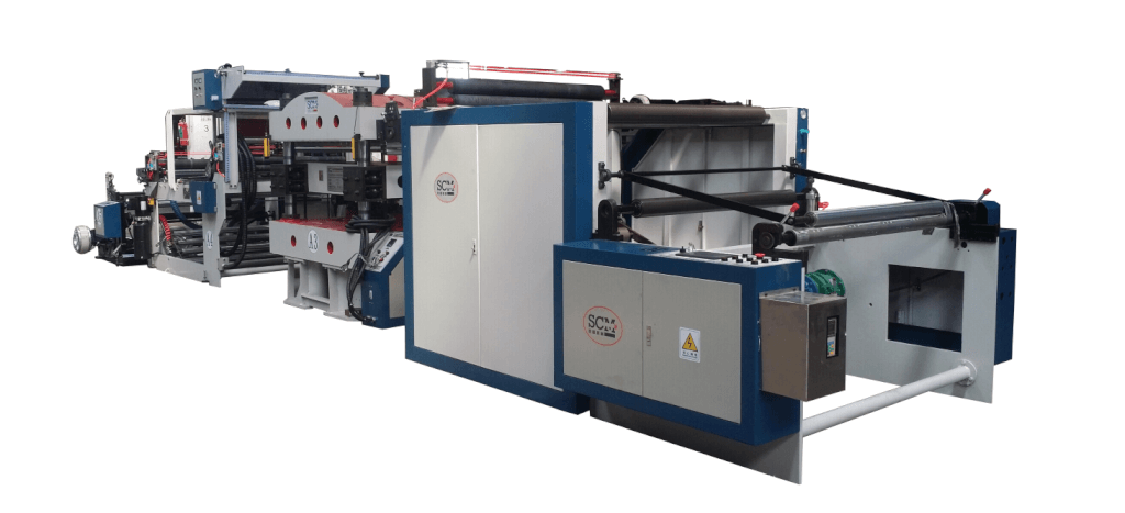 Non-woven hot-stamping machine