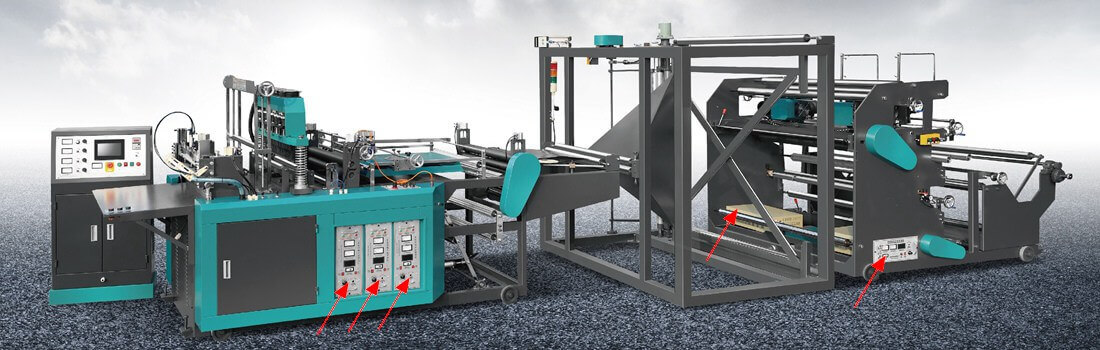 Ultrasonic Generators on Non-woven Bag Making Machine