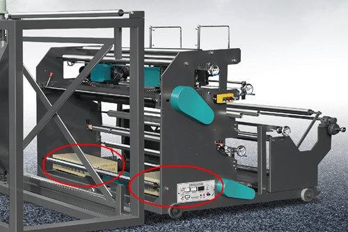 Ultrasonic Generators on Unwinding Unit